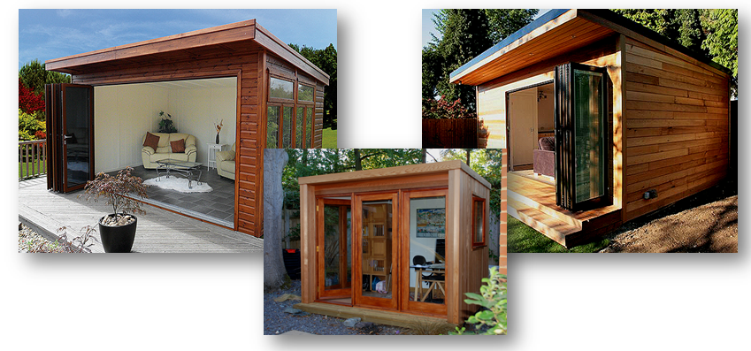 Garden Rooms and Living Pods